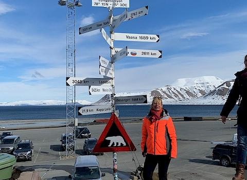 Angelique's reisverslag: Spitsbergen marathon