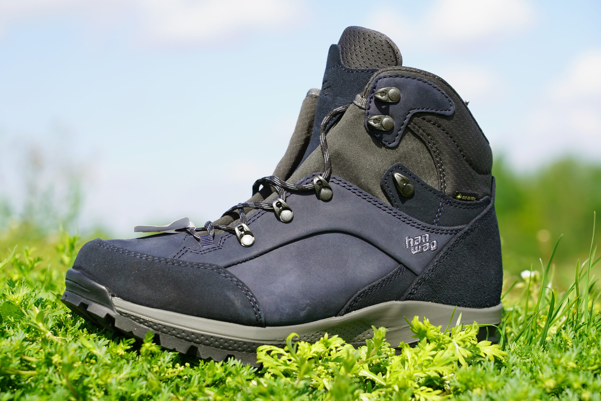 Vetertechniek voor stabiliteit met hoge wandelschoenen